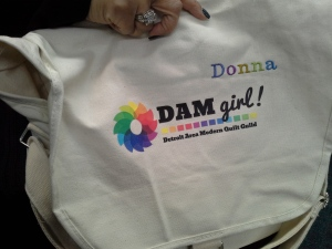 Donna's DAM QuiltCon Bag