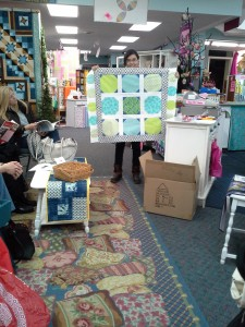 Ashley's Show & Tell Baby Quilt