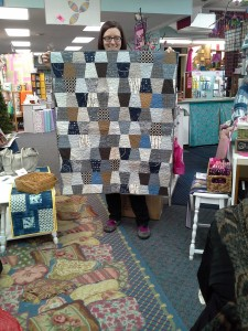 Rebekah's Show & Tell Baby Quilt