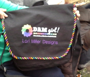Lori's DAM QuiltCon Bag